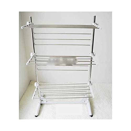 QAZX Percha Rack de Secado Plegable Interior o al Aire Libre para el hogar Ropa de Secado de la Ropa Secadora de la lavandería Colgante de la suspensión Organizador