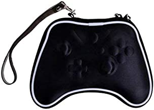 OSTENT Air Foam Hard Pouch Case Bag Sleeve Compatible for Microsoft Xbox One Wireless Controller - Color Black
