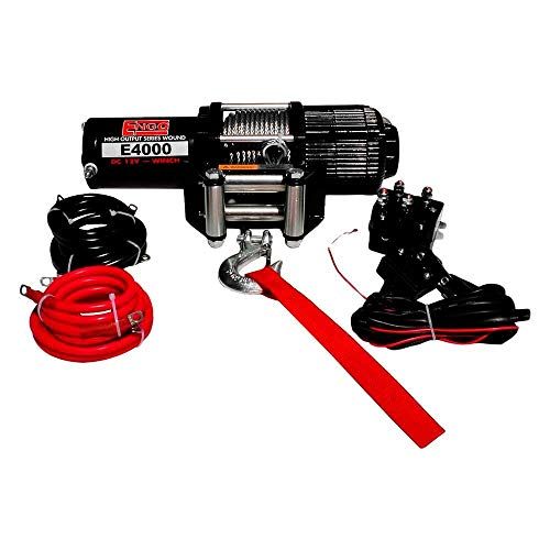 Engo 4,000 Lb. (1821Kg) 12 Volt Electric Winch for ATV