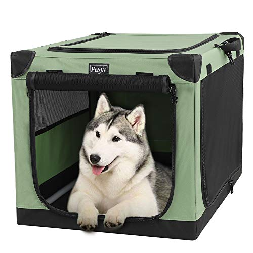 Petsfit 36 Inch Portable Dog Crate for Outdoor and Travel Use