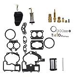WFLNHB Carburetor 3302-804844002 3.0 4.3 5.0 Rebuild Kit Fit for Mercruiser Marine 2Barrel