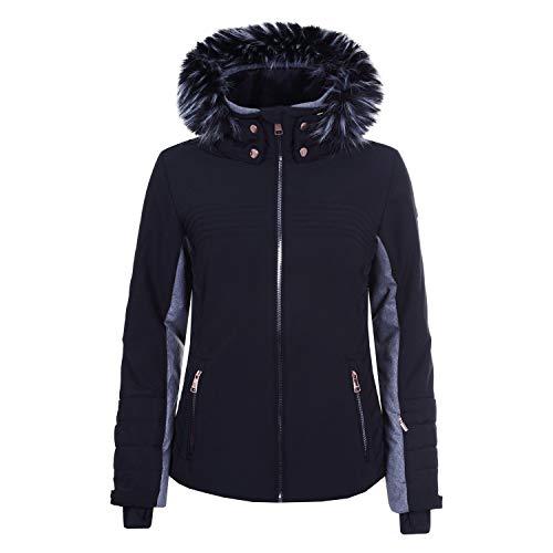 LUHTA Berit L7 - Damen Skijacke Snowboard Jacke - 232426535-990 schwarz, Größe:36