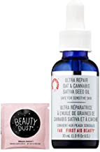 FAB Ultra Repair Cannabis Sativa & Oat Facial Oil! Cannabis Sativa Seed Oil Rich In Omega, Fatty Acids and Colloidal Oatmeal! Helps Calm and Soothe Skin! Includes Beauty Dust Travel Packet!