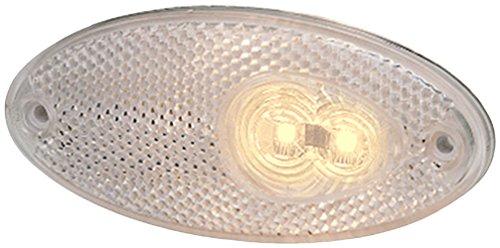 HELLA 2PG 964 295-121 Positionsleuchte - LED - 12V - Lichtscheibenfarbe: glasklar - Anbau - Kabel: 5000mm