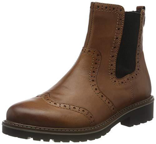Remonte Damen R6573 Chelsea Boots, Braun (Muskat/Muskat 24), 41 EU