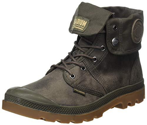 Palladium Unisex Combat Boots Ankle, Major Brown Mid Gum, 10.5 US Men