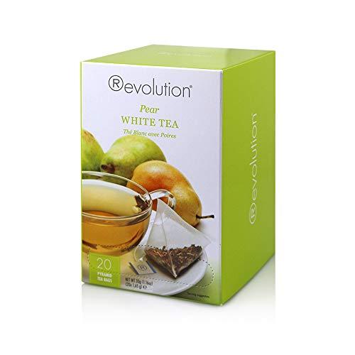 Revolution Tee - Weißer Tee mit Birnengeschmack, 20 Pyramidenteebeutel