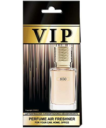 5 x Caribi VIP auto luchtverfrisser parfum thuis kantoor geur vergelijkbaar met dure parfum No850