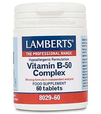 Lamberts Vitamin B-50 Complex QTY 60 Tablets