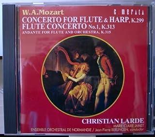 モーツァルト:フルートとハープ