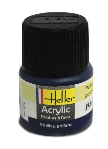 Heller 9015 - Modellismo, Colore Acrilico, Colore: Blu Brillante [Importato da Francia]