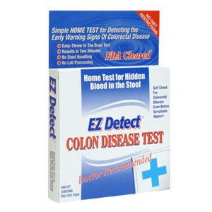 EZ DETECT Home Test for Early Warning Signs of Colorectal Disease by Biomerica Inc