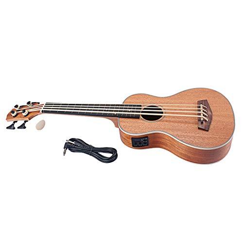 gazechimp Guitarra Eléctrica De 4 Cuerdas 30 Pulgadas Ukulele Baritone Music Beginner Bass Guitar, 30.12x10.55inch