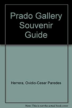 Hardcover Prado Gallery Souvenir Guide Book