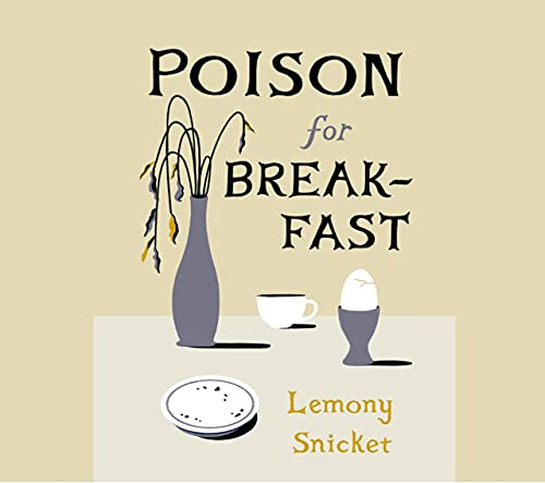Poison for Breakfast cover art