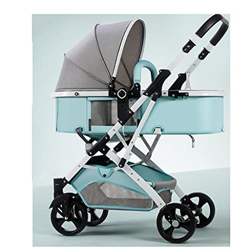 sillas de paseo El artefacto del cochecito, los cochecitos pueden sentarse, acostarse ligeramente pliegue ligeramente la absorción de choques de alto paisaje de dos vías para el automóvil infantil rec