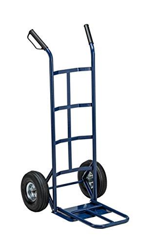 Carrello trasporto grandi volumi Ruote pneumatiche Portata max. 250 kg.