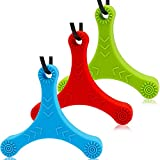 LLMZ Masticar Collar 3 PCS Collar para Masticar Sensorial Collar Mordedor Silicona Para Niños
