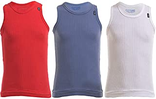 Derby Under Shirt For Boys, Set of 3