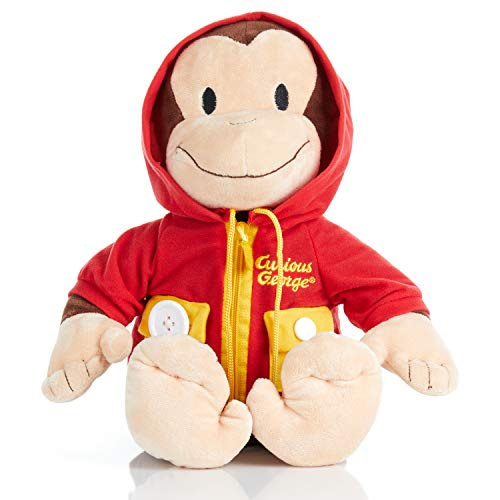 KIDS PREFERRED Curious George Learn to Dress Stuffed Animal, 14