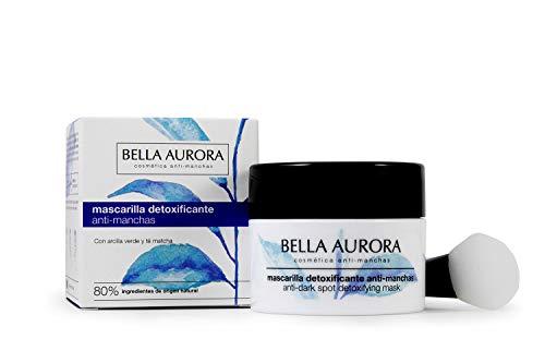 Bella Aurora, Mascarilla Facial Detoxificante Anti-Manchas, 75 ml