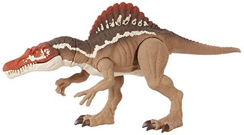 Jurassic World HCK57 - Beißender Spinosaurus, Dinosaurier-Actionfigur, bewegliche Gelenke, für Kinder ab 4Jahren