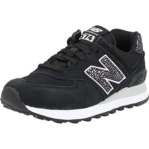 New Balance 574 Mujer Zapatillas Negro 39 EU