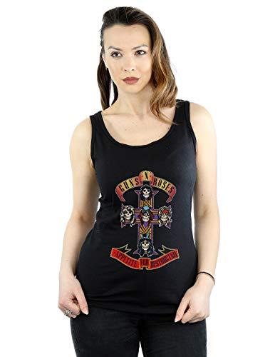 Women's Guns N Roses Appetite For Destruction Vest Top, S to XXL
