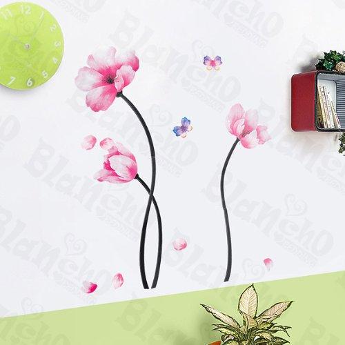 Lively patchs à fleurs – Grande Stickers muraux Stickers Home Decor