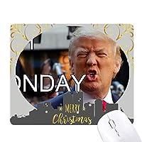 アメリカの大統領は、トランプのばかな画像 クリスマスイブのゴムマウスパッド