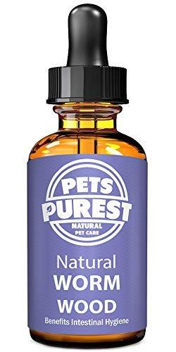 Pets Purest Vermifuges anti-parasitaire 100% naturel pour les chiens les chats la volaille les...