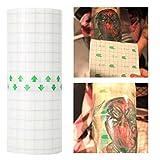 Película desechable para la protección del tatuaje - Película protectora de plástico para envoltura conservadora para tatuaje, Protector de barrera para tatuaje transparente para los accesorios de maq