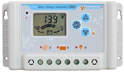 Regulador de Carga Solar Wincong 30A...