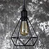 Modern Chandeliers Ceiling Lights Pendant United States Steel Birdcage Pendant Vintage Retro DIY