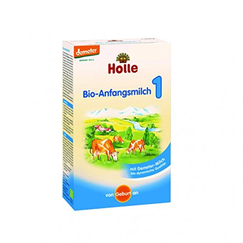 Organic Infant Formula 1 (400g) Bulk Pack x 6 Super Savings by HOLLE