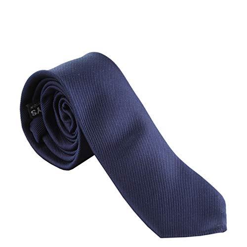G.O.L. - Jungen Schlips Krawatte zum binden gemustert, dunkelblau - 9964300dbmuster, Größe 2