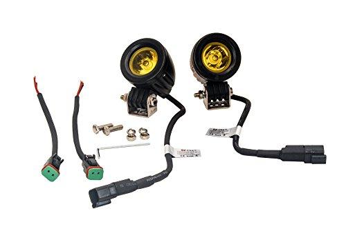 OZ-USA Amber Mini Trail Lights LED CREE Spot Motorcycle Offroad Dual Sport Enduro Fog KTM HID