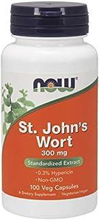 Now Foods St. John's Wort 300mg 100 Vcaps