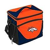 logobrands NFL Denver Broncos Cooler 24 Can, Team Colors, One Size, Single (63)