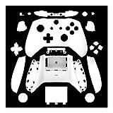 New Shell for el botón de Xbox One S Delgado Accesorios Shell Mod Controlador Mate Kit de la Cubierta de Encargo de la Cubierta for Xbox One Delgado (Color : White)