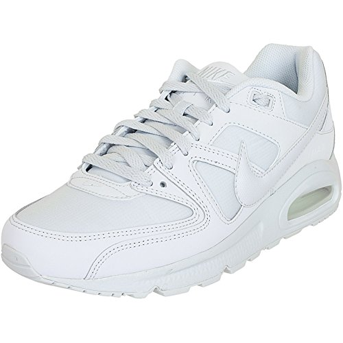 Nike Air Max Command, Scarpe da Ginnastica Basse Uomo, Bianco (White/White-White), 43 EU