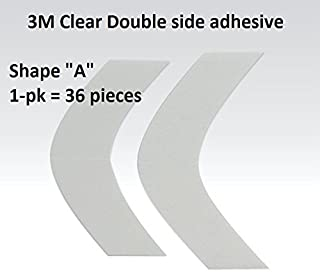 Daily Wear A Contour 3M 1522 Clear Adhesive Tape 36 Pieces