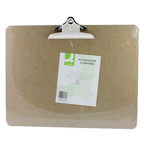 Q Connect A3 Masonite Clipboard