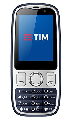 Tim Easy 4G Smartphone, Marchio Tim, 2 GB, Blu [Italia]