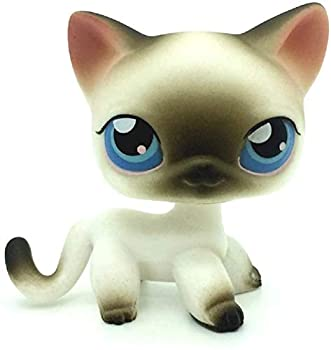 LPS Toy Sparkle Action Figures Kids Toy Gift,Cute Cartoon Pets Cats kittey Kitty Toy Mini Littlest Pet Shop Toys