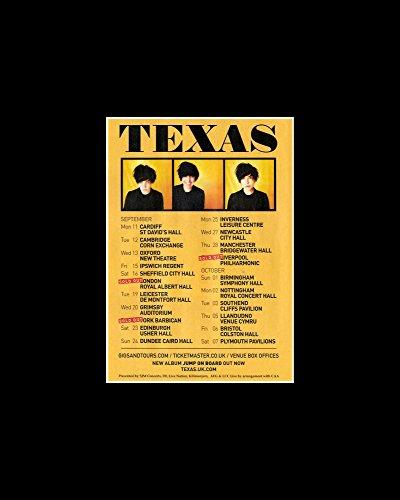 Texas - wrzesień i październik wycieczka 2017 mini plakat - 25,4 x 20,3 cm