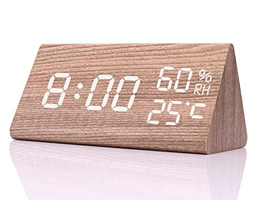 Despertador Digital Madera  marca YTM
