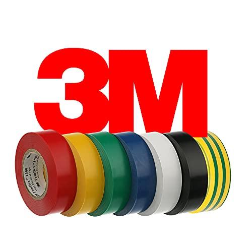 10 Pack Temflex cinta adhesiva electrico cinta aislante uso general BLANCO (0,13...