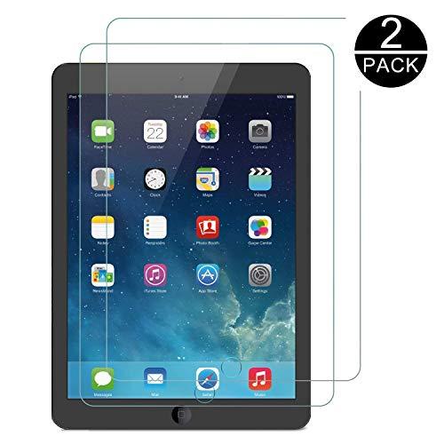 TECHKUN Schutzfolie für Apple iPad Air (9,7-Zoll, 2018/2017 Modell), iPad Air 1, iPad Air 2, iPad Pro 9,7-Zoll, Gehärtetem Glas panzerglas
