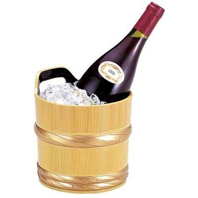 桶ワインクーラー 白木帯金 【商品コード】1270600